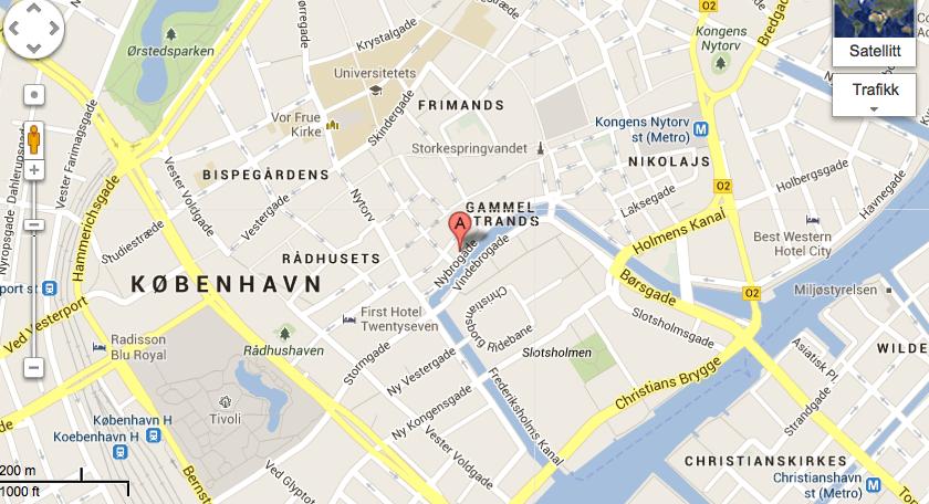 københavn sentrum kart Bli med på cocktailparty i København | LANGE LINJER københavn sentrum kart