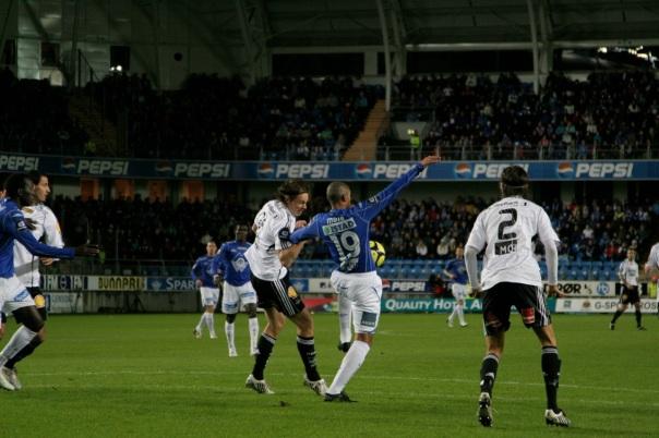 Fra forrige gang Molde jaktet på cupgull, og den gang møtte RBK på Aker stadion i 2009. Foto: Odd Roar Lange