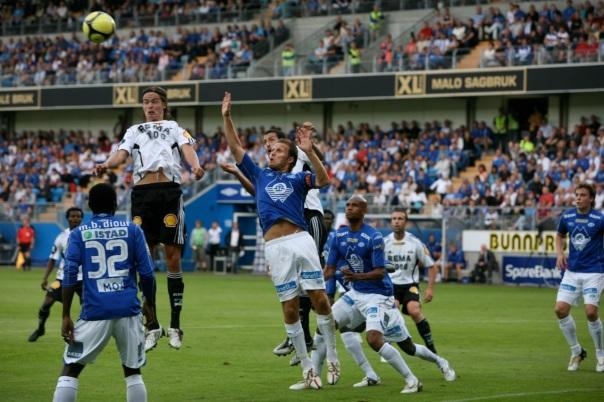Molde-RBK 5-0 i cupkamp i 2009. Foto: Odd Roar Lange