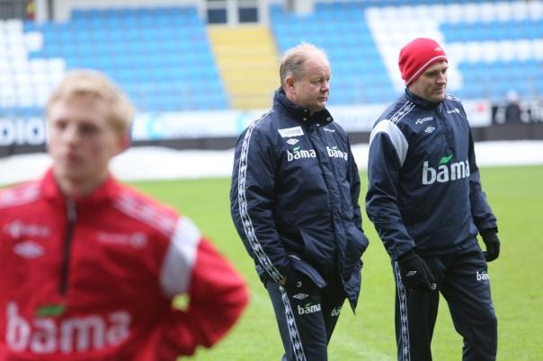 Kan Per Mathias Høgmo skaffe en norsk seier på Moldes gress? Foto: Odd Roar Lange
