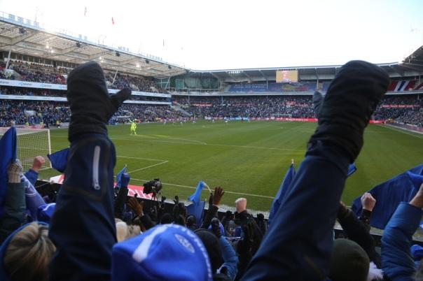 Knut Olav Rindarøy har nettopp scoret 1-0-målet